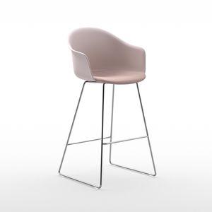 silla de bar de diseño escandinavo