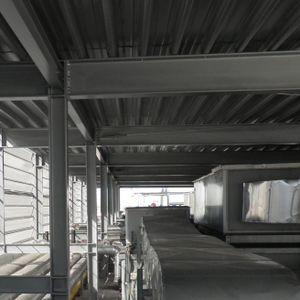 chapa acanalada / de acero galvanizado / para forjado / de cubiertas