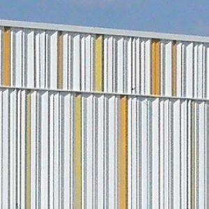 revestimiento de fachada de acero