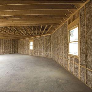 aislante termoacústico / de lana de vidrio / de lana mineral / para interior