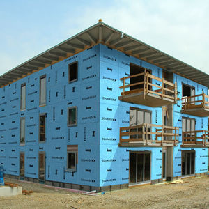 panel de construcción de yeso