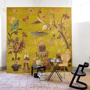 papel pintado contemporáneo / de vinilo / con motivos de la naturaleza / con motivos animales
