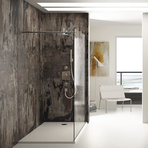 plato de ducha rectangular / independiente / de Dekton® / de Silestone®