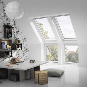 ventana de tejado fija