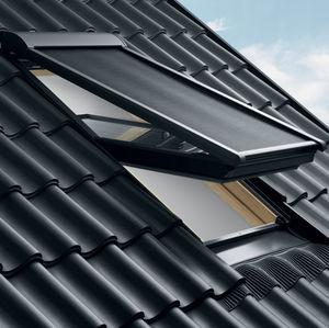 estores enrollables / de tela / de exterior / para ventanas de tejado