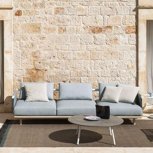 sofá de jardín / modular / contemporáneo / interior
