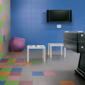 baldosa de interior / para pavimento / de gres porcelánico / 20x20 cm