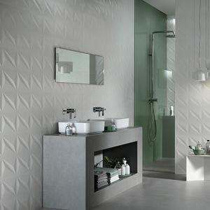 baldosa de interior / de pared / de cerámica / rectangular