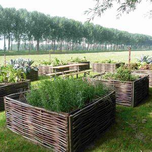 jardinera para huerto de madera
