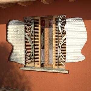 contraventanas empotradas / de madera / para ventanas