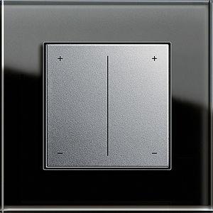 regulador de intensidad luminosa con botón corredizo