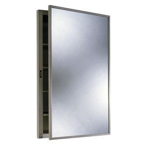 armario botiquín de pared / con espejo