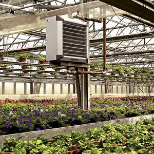 aerotermo de agua caliente / de pared / de techo