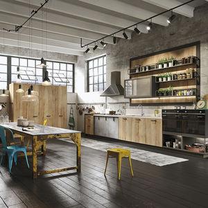 cocina contemporánea / de madera / de mármol / de cuarzo