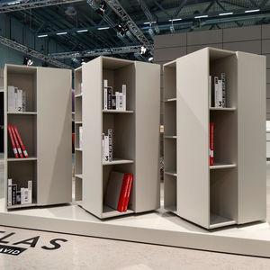 estantería giratoria para oficina / para archivo / estándar / de madera