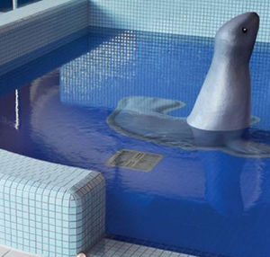 mosaicos para piscinas / para suelos / de pared / de vidrio