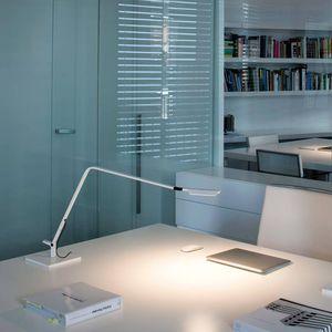 lámpara de mesa / contemporánea / de aluminio / de acero