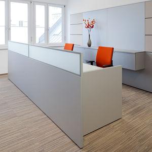 separador para oficina para suelo