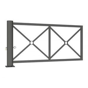 barrera de control de acceso / pivotante / de acero / de acero galvanizado