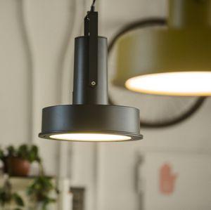 lámpara suspendida / contemporánea / de aluminio / LED
