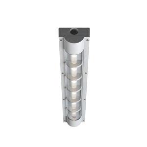 luminaria LED / rectangular / de exterior / de aluminio