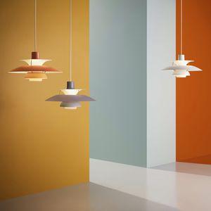 lámpara suspendida / contemporánea / de aluminio / de interior