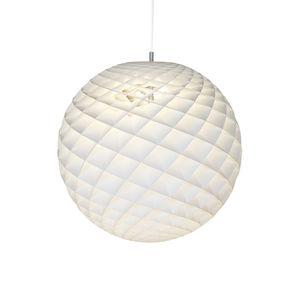 lámpara suspendida / contemporánea / de PVC / de fibra acrílica