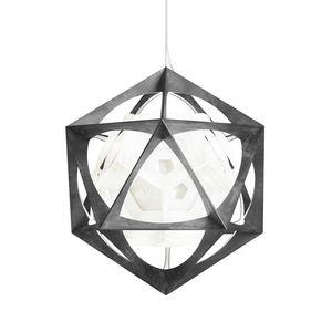 lámpara suspendida / contemporánea / de aluminio / de policarbonato
