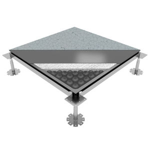 suelo técnico de acero
