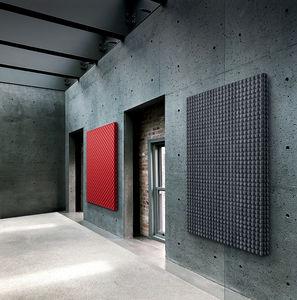 panel de absorción acústica mural / de tejido / 3D / para el sector servicios