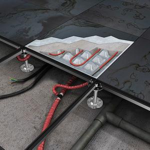 suelo técnico de metal
