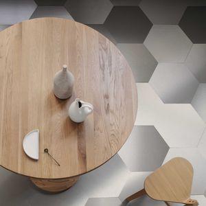 baldosa de terracota de interior / de pared / para suelo / de acero