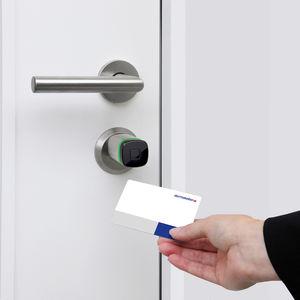cilindro para cerradura de alta seguridad electrónico / con tarjeta