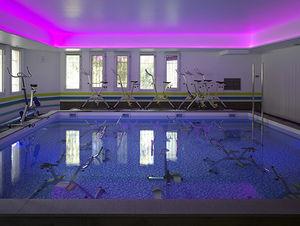 piscina enterrada / de hormigón / para hotel / de rehabilitación