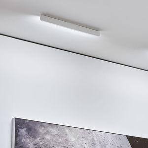 plafón contemporáneo / lineal / de vidrio / de aluminio