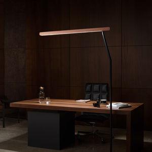 lámpara de pie / contemporánea / de aluminio / ajustable