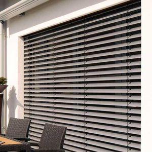 persianas venecianas / de plástico / de aluminio / de aluminio extruido