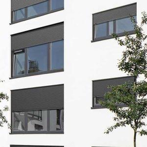 persianas exteriores / de aluminio / de acero / de aluminio extruido