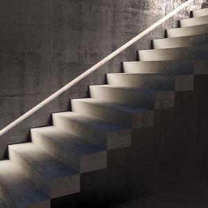 luminaria empotrable de pared / LED / lineal / para habitación húmeda