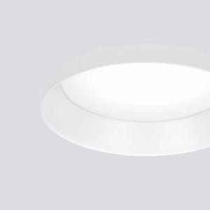 downlight empotrable / LED / redondo / de acero