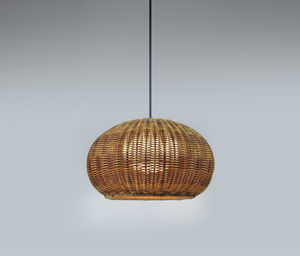 lámpara suspendida / contemporánea / de polietileno / de fibras sintéticas