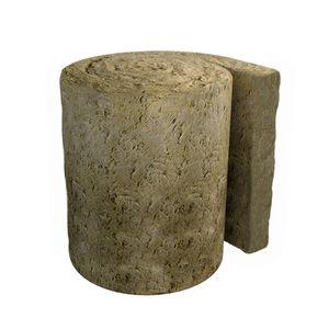 aislante termoacústico / de lana de roca / para tejado metálico / para fachada
