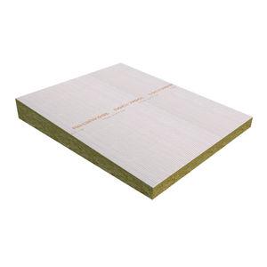 aislante termoacústico / de lana de roca / para azotea / tipo panel