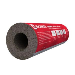 aislante termoacústico / de lana de roca / para canalizaciones / para CVAA