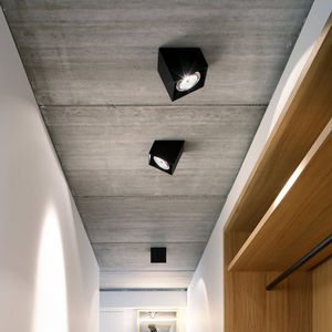 downlight montado en superficie / LED / cuadrado / de aluminio