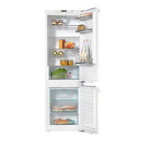 frigorífico combi con congelador en la parte inferior