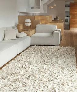 alfombra contemporánea / de color liso / de fieltro / rectangular