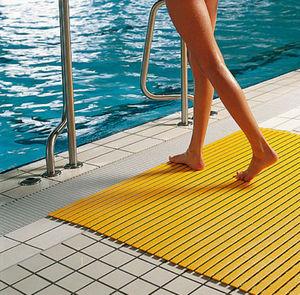 tarima de PVC / para piscina / para interiores / para ducha