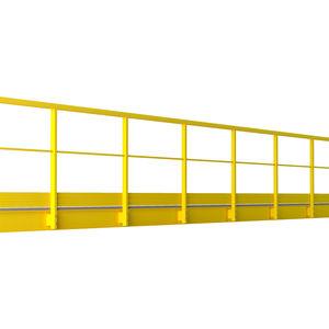 barandilla de fibra de vidrio / con barrotes / de exterior / para escalera