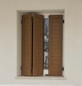 contraventanas plegables / de madera / para ventanas / para puertas
